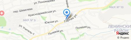РЕКЛАМА на карте Ставрополя