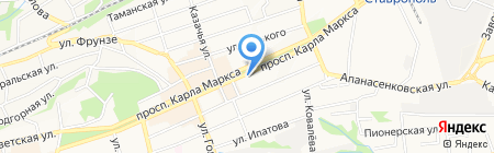 Адджын на карте Ставрополя