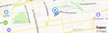 1С-Гэндальф на карте Ставрополя