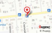 Схема проезда до компании Стройкрат в Михайловске
