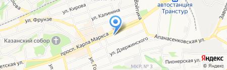 Полёт на карте Ставрополя