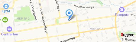 Стома-Плюс на карте Ставрополя