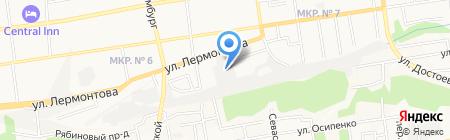 PLUS AUTO на карте Ставрополя