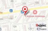 Схема проезда до компании Бэлкан в Ставрополе