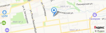 Юг-Медиа на карте Ставрополя