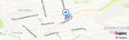 Провиант на карте Ставрополя