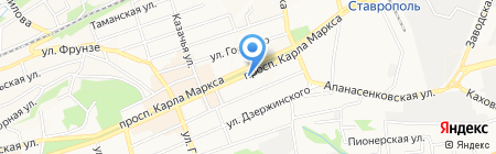 Барса на карте Ставрополя
