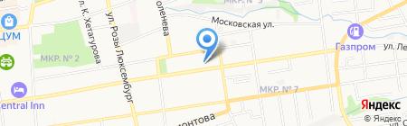 Ставропольхлебопродукт на карте Ставрополя