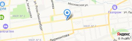 Скорая медицинская помощь на карте Ставрополя