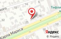 Схема проезда до компании Тд  в Ставрополе