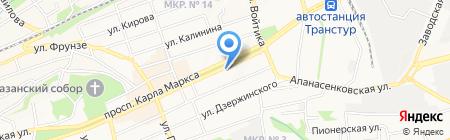 Подаркофф на карте Ставрополя