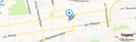 Детский сад №49 Фея на карте Ставрополя