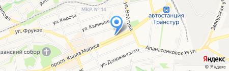 СТАВВЕНДИНГ на карте Ставрополя
