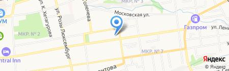 Парфюмер на карте Ставрополя