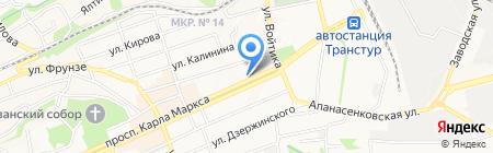 Дент смайл на карте Ставрополя