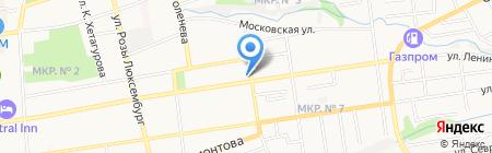 Ставкрайимущество на карте Ставрополя
