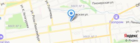 ДОСААФ России Ставропольского края на карте Ставрополя