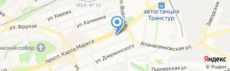 Нотариус Коваленко Б.А. на карте Ставрополя