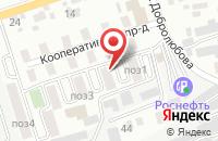 Схема проезда до компании Фабрика Корпоративной Прессы в Ставрополе