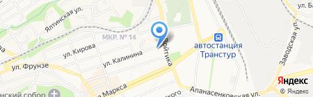 Управление вневедомственной охраны на карте Ставрополя