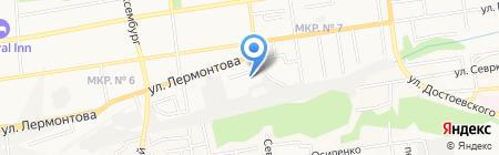 Энергосистемы на карте Ставрополя