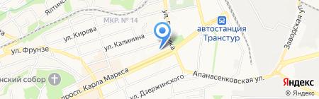 Центр профессиональной переподготовки и повышения квалификации работников культуры на карте Ставрополя