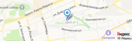 Мебельщик на карте Ставрополя