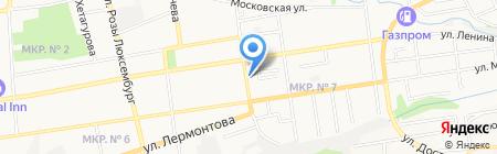 Веста на карте Ставрополя