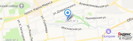 СтавТеплоМонтаж на карте Ставрополя