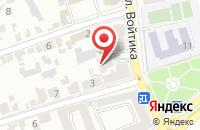 Схема проезда до компании Стройактпром в Ставрополе