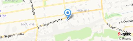 Империал на карте Ставрополя