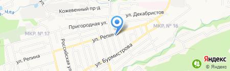 Солидный улов на карте Ставрополя