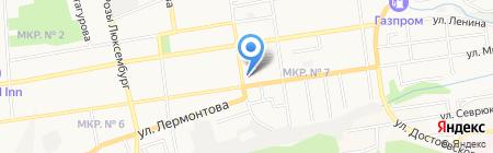 Лаборатория по мониторингу загрязнения окружающей среды на карте Ставрополя