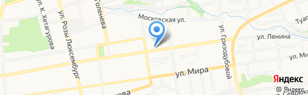 Детский сад №36 на карте Ставрополя