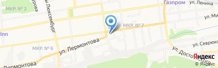 Островок на карте Ставрополя