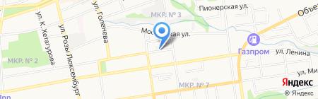 Кузов маркет на карте Ставрополя