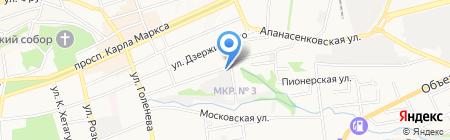 МеталлСтрой на карте Ставрополя