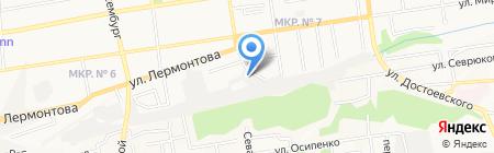 ТОРОС на карте Ставрополя