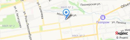 Вока и Ко на карте Ставрополя