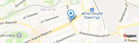 Старый Город на карте Ставрополя