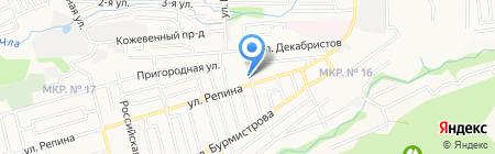 Средняя общеобразовательная школа №11 им. И.А. Бурмистрова на карте Ставрополя