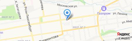 Магазин хозяйственных товаров на ул. Ленина на карте Ставрополя