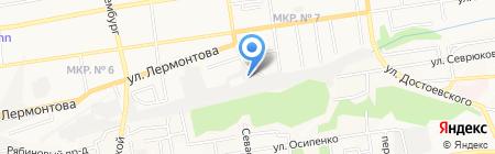 СТОльник на карте Ставрополя