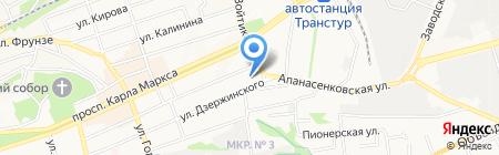 ОПС на карте Ставрополя