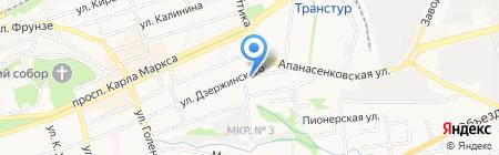 Дон-Вига на карте Ставрополя