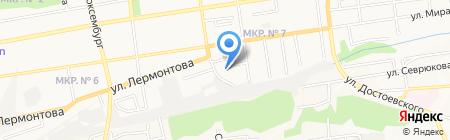 КРАЙБЫТСОЮЗ на карте Ставрополя