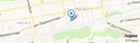 Криал-Мебель на карте Ставрополя