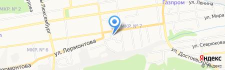 Автокласс на карте Ставрополя