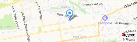 Бетар Юг на карте Ставрополя