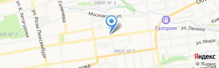 Аптечная сеть на карте Ставрополя